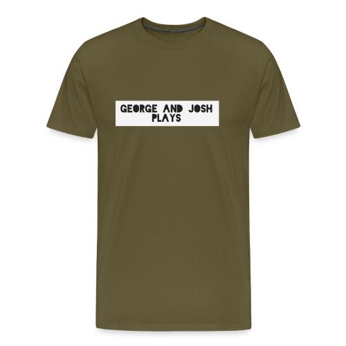 George-and-Josh-Plays-Merch - Men's Premium T-Shirt
