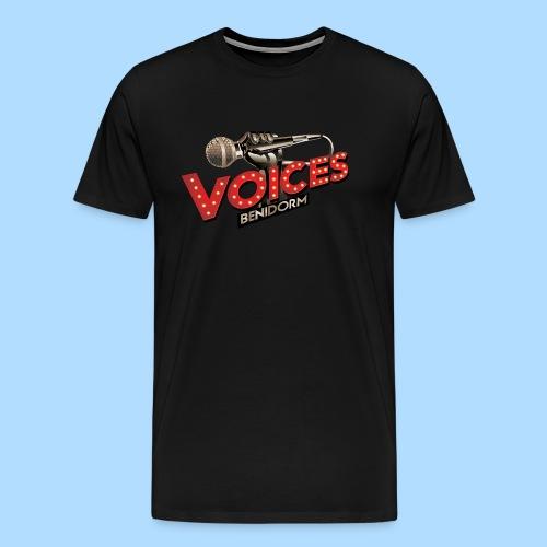 Voices Logo - Men's Premium T-Shirt
