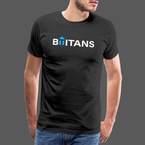 BTITANS Helmet Logo Print - Männer Premium T-Shirt