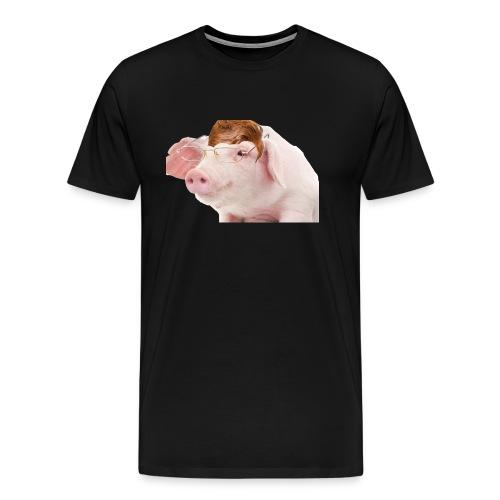 Menial Memes Logo - Men's Premium T-Shirt