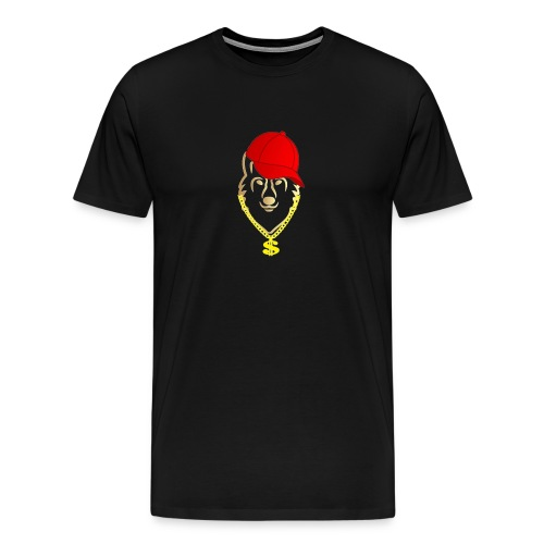 Raitis gangster - Men's Premium T-Shirt