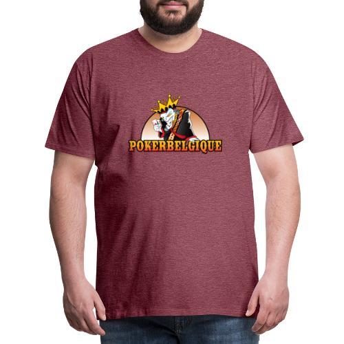 Logo Poker Belgique - T-shirt Premium Homme
