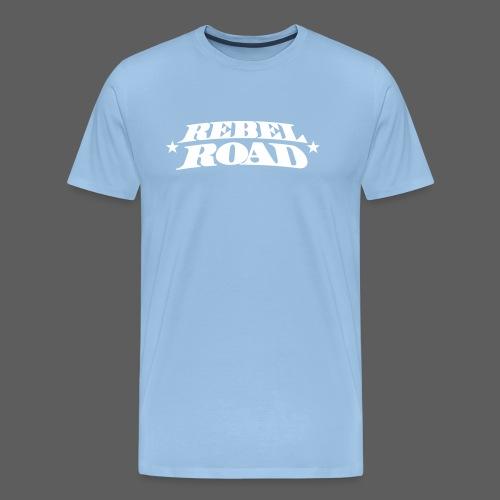 RR Symetric White Logo - Men's Premium T-Shirt