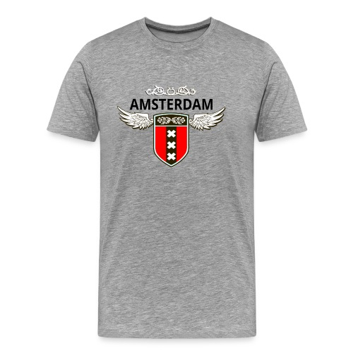 Amsterdam Netherlands - Männer Premium T-Shirt