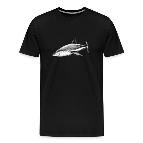 Great white shark - Tiburón blanco - Camiseta premium hombre