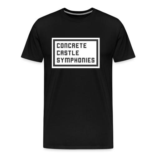 Concrete Castle Symphonies - Männer Premium T-Shirt