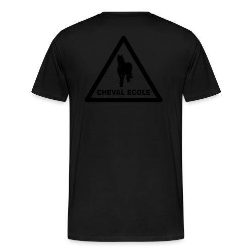chevalecoletshirt - T-shirt Premium Homme