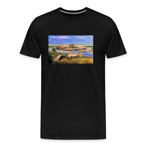 photo - T-shirt Premium Homme