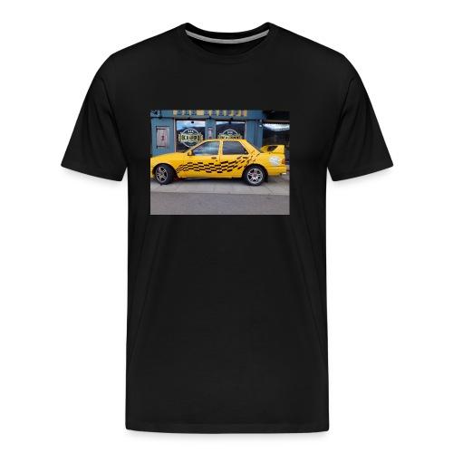 Napapiirin sankarit auto - Miesten premium t-paita