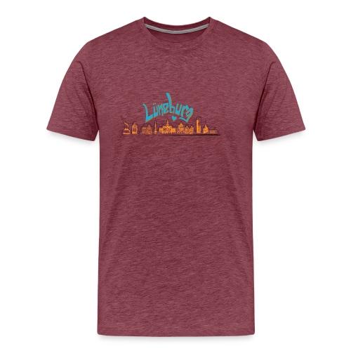 Lüneburg Design by deisoldphotodesign - Männer Premium T-Shirt