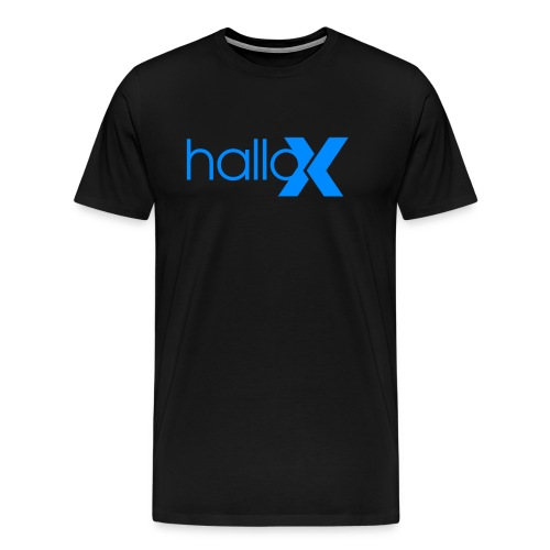 Hallo X - Männer Premium T-Shirt