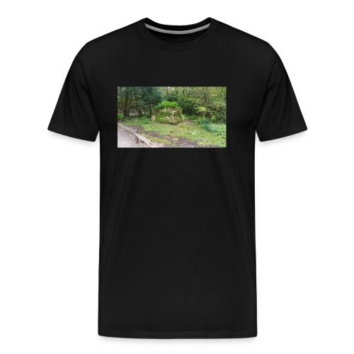 Was guckst du - Männer Premium T-Shirt