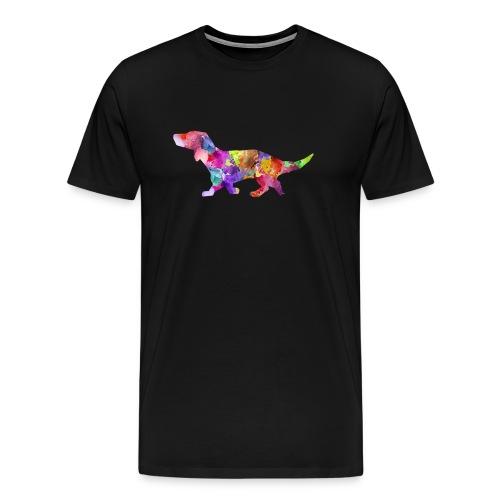 Bunter Hund - Männer Premium T-Shirt