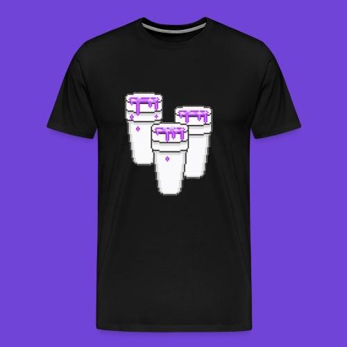 Purple - Maglietta Premium da uomo
