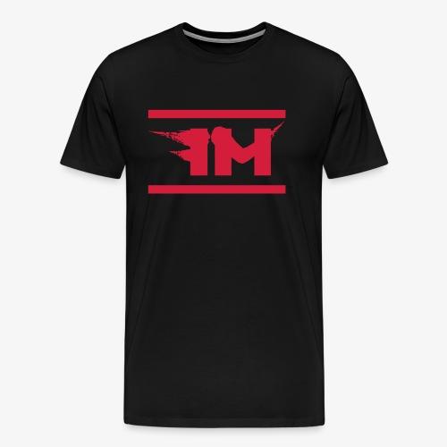 FM Hoodie White - Männer Premium T-Shirt
