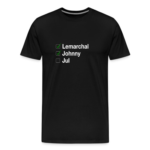 Check list Johnny Jul - T-shirt Premium Homme