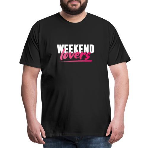 Weekend Lovers - Männer Premium T-Shirt