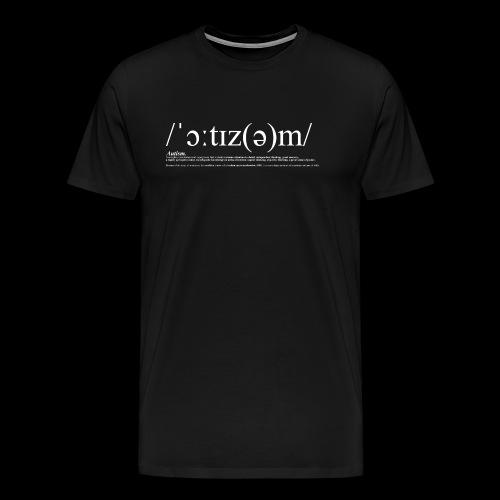 AUTISM WHITE - Men's Premium T-Shirt