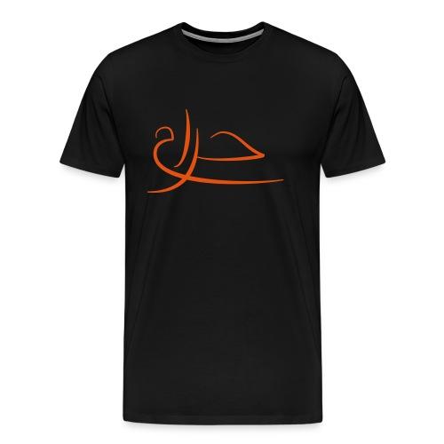 Haram-rouge - T-shirt Premium Homme