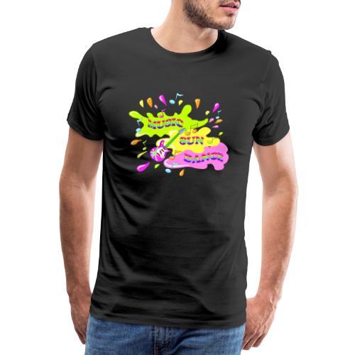 MUSIC RAINBOW colorcontest - T-shirt Premium Homme