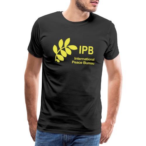 International Peace Bureau IPB Logo - Men's Premium T-Shirt