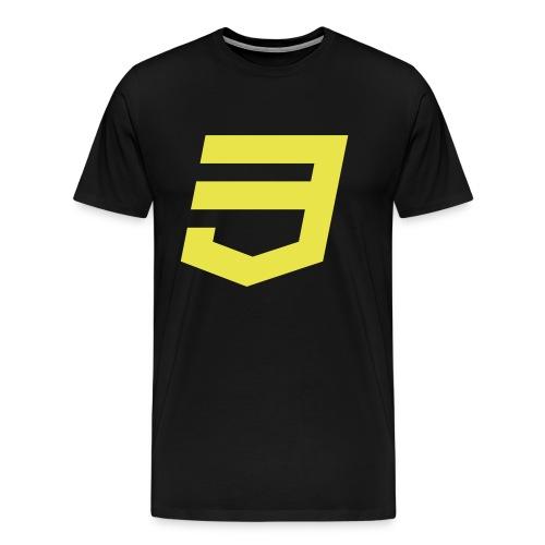 CSS3 Developer - Camiseta premium hombre