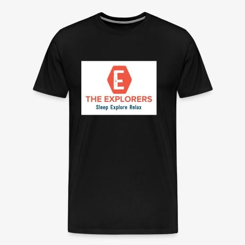 logo white background - Men's Premium T-Shirt