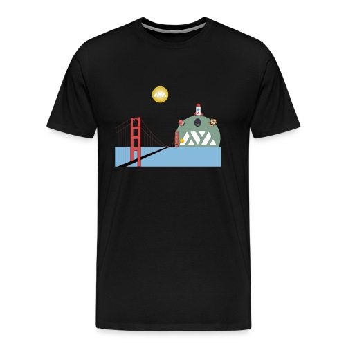 Avalanche Good Bridging to walhalla - Mannen Premium T-shirt