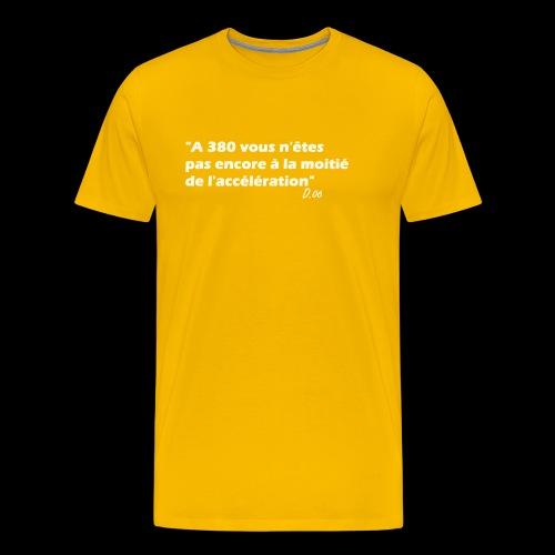 380 (blanc) - T-shirt Premium Homme
