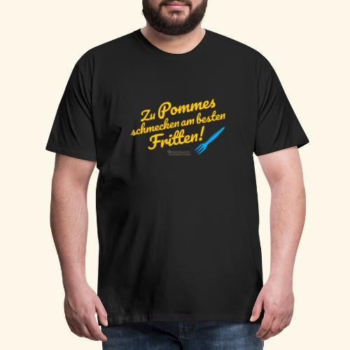 Pommes & Fritten   Geek T-Shirts - Männer Premium T-Shirt
