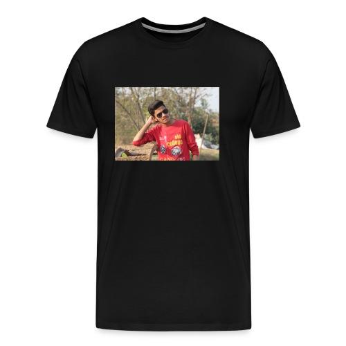 IN SIDDIPET MODEL NAZEER SMART ACTER - Men's Premium T-Shirt