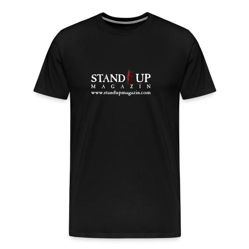 sup mag shirt front weiss - Männer Premium T-Shirt