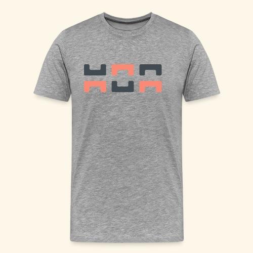 Angry elephant - Men's Premium T-Shirt