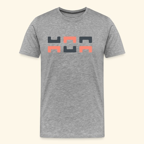 Bezier Elephant, by Hoa - Men's Premium T-Shirt