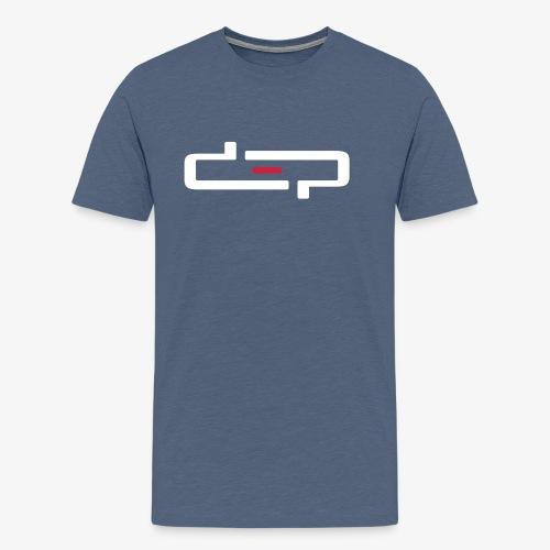 deplogo1neg red - Premium T-skjorte for menn