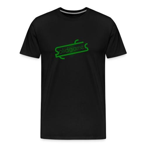 Solidgames Crewneck Grey - Men's Premium T-Shirt