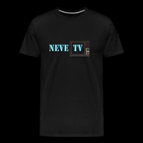 NeveTV png - Premium T-skjorte for menn