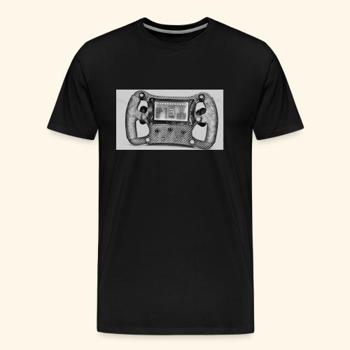 VOLANTE F1 SIM RACING - Camiseta premium hombre