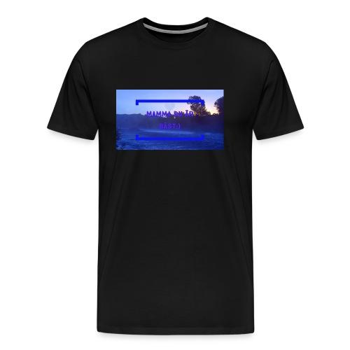 Mamma Du Är Bäst - Premium-T-shirt herr