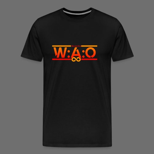 W:A:O We Are One - Männer Premium T-Shirt