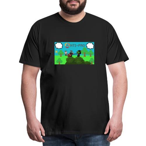 Maglietta Immagine Mario Anti-Pro - Maglietta Premium da uomo