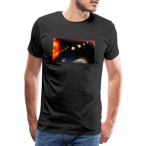 Solsystemet - Herre premium T-shirt