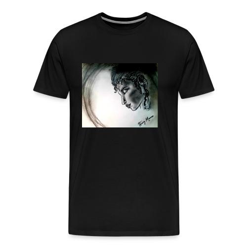 woman2 - T-shirt Premium Homme