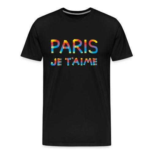 Paris Je taime - T-shirt Premium Homme