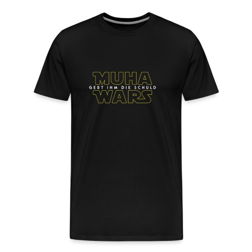 Muha Wars - Plain - Männer Premium T-Shirt