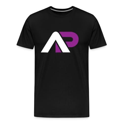 T-Shirt Sort - Herre premium T-shirt