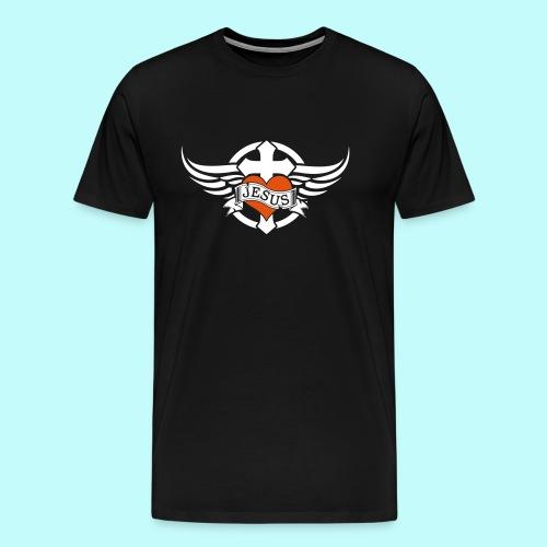 Love JESUS - Männer Premium T-Shirt