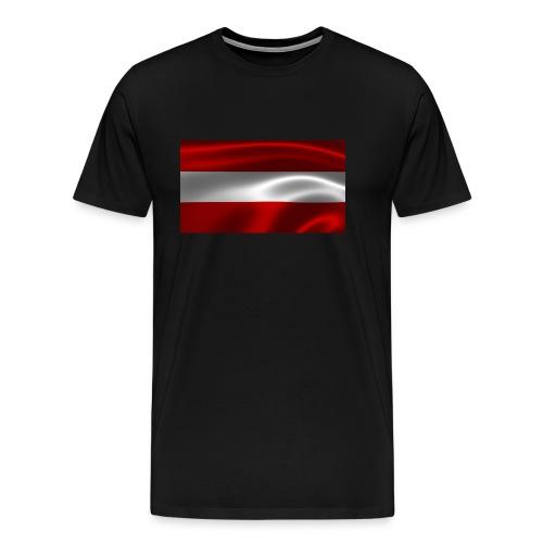 Austria I Love Austria - Männer Premium T-Shirt