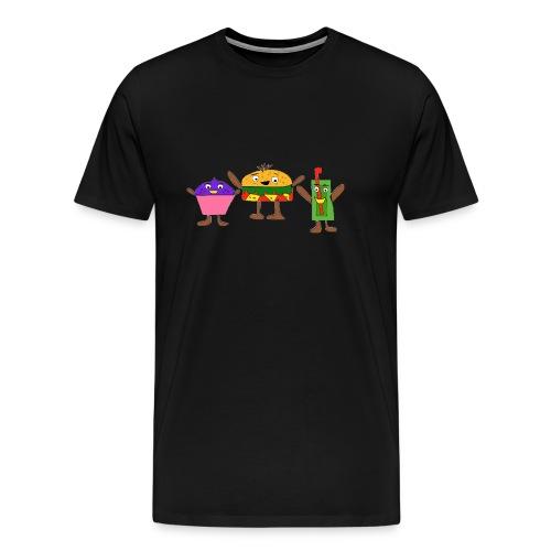 Fast food figures - Men's Premium T-Shirt