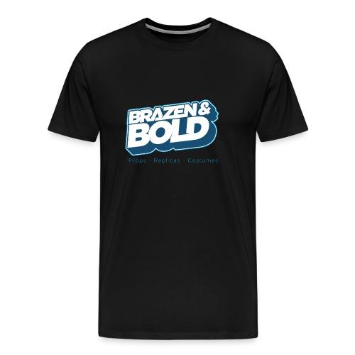 Brazen & Bold Shirt # 2 - Men's Premium T-Shirt
